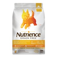 Nutrience Grain Free for Small Breed – Turkey, Chicken & Herring - 2.5 kg (5.5 lbs)