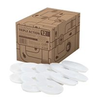 Catit Triple Action Fountain Filter - 12 pack