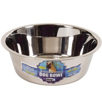 Dogit Stainless Steel Dog Bowl - Super Large - 4 L (135 fl oz)