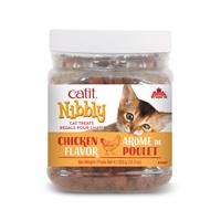 Catit Nibbly Cat Treats - Chicken Flavour - 350 g (12.3 oz) jar