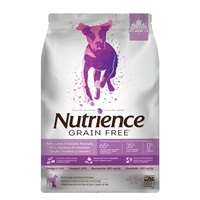 Nutrience Grain Free Pork, Lamb & Venison Formula - 5 kg (11 lbs)