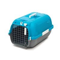 Catit Cat Carrier - Medium - Turquoise - 56.5 L x 37.6 W x 30.8 H cm (22 x 14.8 x 12 in)