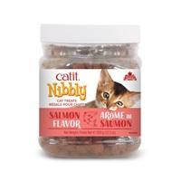 Catit Nibbly Cat Treats - Salmon Flavour - 350 g (12.3 oz) jar