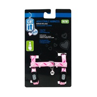 Catit Style Adjustable Nylon Cat Harness - Ribbon - Medium