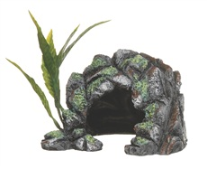 Marina Polyresin Decor Cave Ornament - Small - 10.5 x 15.5 x 12.5 cm (4.2 x 6 x 5 in)