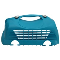 Catit Replacement Top Hatch Left Door with 2 Clips for Catit Cabrio Carrier - Turquoise