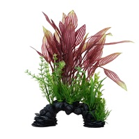 Fluval Aqualife Deco Scapes Red Lace Plant Mix - 30.5 cm (12 in)