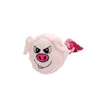 Dogit Stuffies Dog Toy – Big Head Friend - Pig - 23 cm (9 in)