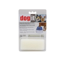 Dogit Replacement Small/Large Foam Filter Inserts - 2 pieces