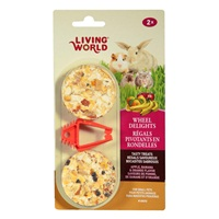 Living World Wheel Delights - Apple/Banana/Orange - 2 pack
