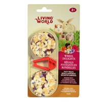 Living World Wheel Delights - Passion Fruits/Flowers - 2 pack