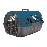 Dogit Voyageur Dog Carrier - Dark Blue/Charcoal - Medium - 56.5 cm L x 37.6 cm W x 30.8 cm H (22 in x 14.8 in x 12 in)
