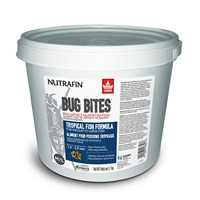 Nutrafin Bug Bites Tropical Formula – Medium to Large Fish - 1.4 - 2.0 mm granules – 1.7 kg (3.7 lbs)