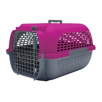 Dogit Voyageur Dog Carrier - Fuchsia/Charcoal - Small - 48.3 cm L x 32.6 cm W x 28 cm H (19 in x 12.8 in x 11 in)