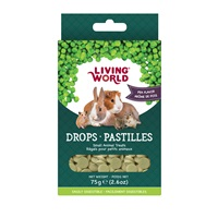 Living World Small Animal Drops - Pea Flavour - 75 g (2.6 oz)