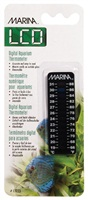 Marina LCD Aquarium Thermometer - Centigrade - Fahrenheit - 19 to 31° C (66 to 88° F)