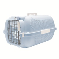 Catit Profile Voyageur Cat Carrier - Baby Blue - Small - 48.3 cm L x 32.6 cm W x 28 cm H (19 in x 12.8 in x 11 in)