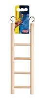 """Living World Wooden Bird Ladder - 5 Steps - 25 cm (5.5"""") Long"""