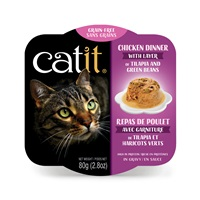 Catit Chicken Dinner with Tilapia & Green Beans - 80 g (2.8 oz)