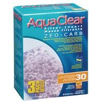 AquaClear 30 Zeo-Carb Filter Insert - 195 g (6.9 oz) - 3 pack