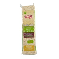Living World Pine Shavings - 10 L (600 cu in)