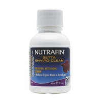 Nutrafin Betta Enviro-Clean Biological Betta Bowl Cleaner - 60 ml (2 fl oz)