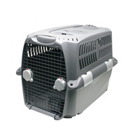 "Dogit Design Cargo Dog Carrier - Gray - XXLarge - 120 cm L x 83 cm W x 88 cm H (47.5"" x 33"" x 35"")"