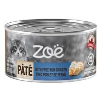 Zoë Pâté with Free Run Chicken for Cats – 85 g (3 oz)