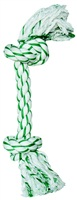 "Dogit Minty Knotted Rope Bone Dog Toy - Large - 37 cm (15"")"