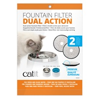 Catit Dual Action Replacement Filters – 2 pack