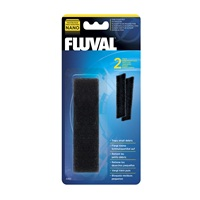 Fluval Nano Aquarium Filter Fine Foam Pad - 2 pack