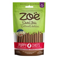 Zoë Dental Sticks for Puppies – Cinnamon Flavour - 187 g (6.6 oz)