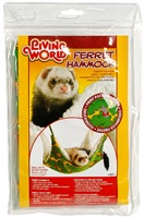 Living World Ferret Hammock - Green - Small - 35 cm (13.8 in)