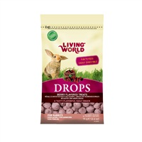 Living World Rabbit Drops - Fieldberry Flavour - 75 g (2.6 oz)