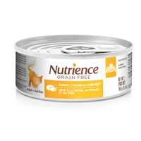 Nutrience Grain Free Turkey, Chicken & Liver Pâté - 156 g (5.5 oz)