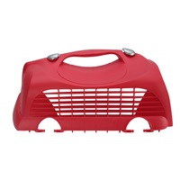 Catit Replacement Top Hatch Left Door with 2 Clips for Catit Cabrio Carrier - Cherry Red