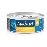 Nutrience Original Healthy Adult - Chicken Pâté with Brown Rice & Vegetables - 156 g (5.5 oz)