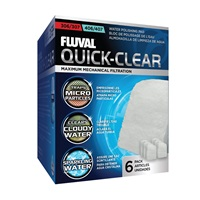 Fluval 306/406 and 307/407 Quick-Clear - 6 pack