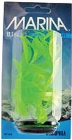 Marina Vibrascaper Plastic Plant - Hygrophilia - Green-Dayglo - 12.5 cm (5 in)