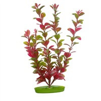 Marina Aquascaper Plastic Plant - Red Ludwigia - 12.5 cm (5 in)