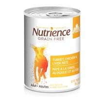 Nutrience Grain Free Turkey, Chicken & Liver Pâté - 369 g (13 oz)