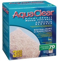 AquaClear 70 Ammonia Remover Filter Insert - 1038 g (36.6 oz) - 3 pack