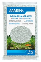 Marina Cream White Decorative Aquarium Gravel - 2 kg (4.4 lb)