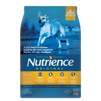 Nutrience Original Adult Medium Breed - Chicken Meal with Brown Rice Recipe - 5 kg (11 lbs)