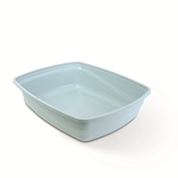 Catit Open Cat Pan - Blue - Medium - 38 x 48 x 12 cm (15 x 18.9 x 4.7 in)