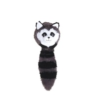 Dogit Stuffies Dog Toy - Forest Ball Friend - Raccoon - 32 cm (12.5 in)