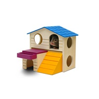 "Living World Playground Play House - Large - 16.5 x 16.5 x 15 cm (6.5 x 6.5 x 5.9"")"