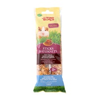Living World Guinea Pig Sticks - Honey Flavour - 112 g (4 oz) - 2 pack