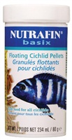 Nutrafin basix Floating Cichlid Pellets - 80 g (2.8 oz)