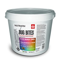 Nutrafin Bug Bites Colour Enhancing Formula – Medium to Large Fish – 1.4-2.0 mm granules - 2 kg (4.4 lbs)